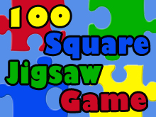 100 square jigsaw game spotlight