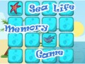 Sea Life Memory Game Spotlight
